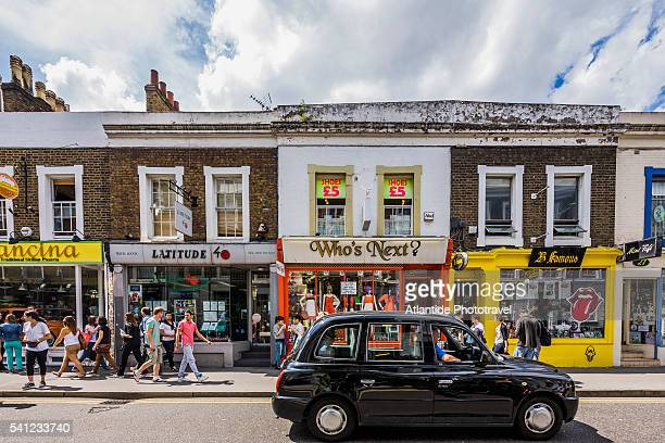 notting hill in london - notting hill stock pictures, royalty-free photos & images