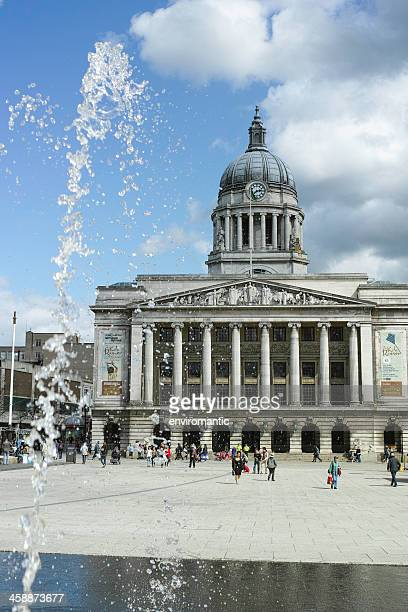 nottingham council house. - nottingham stock photos and pictures