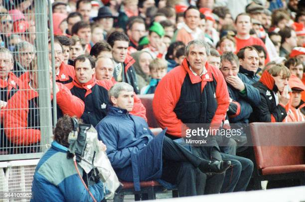 Nottingham Forest 3-2 Southampton, Zenith Data Systems Cup Final at Wembley Stadium, 29th March 1992.