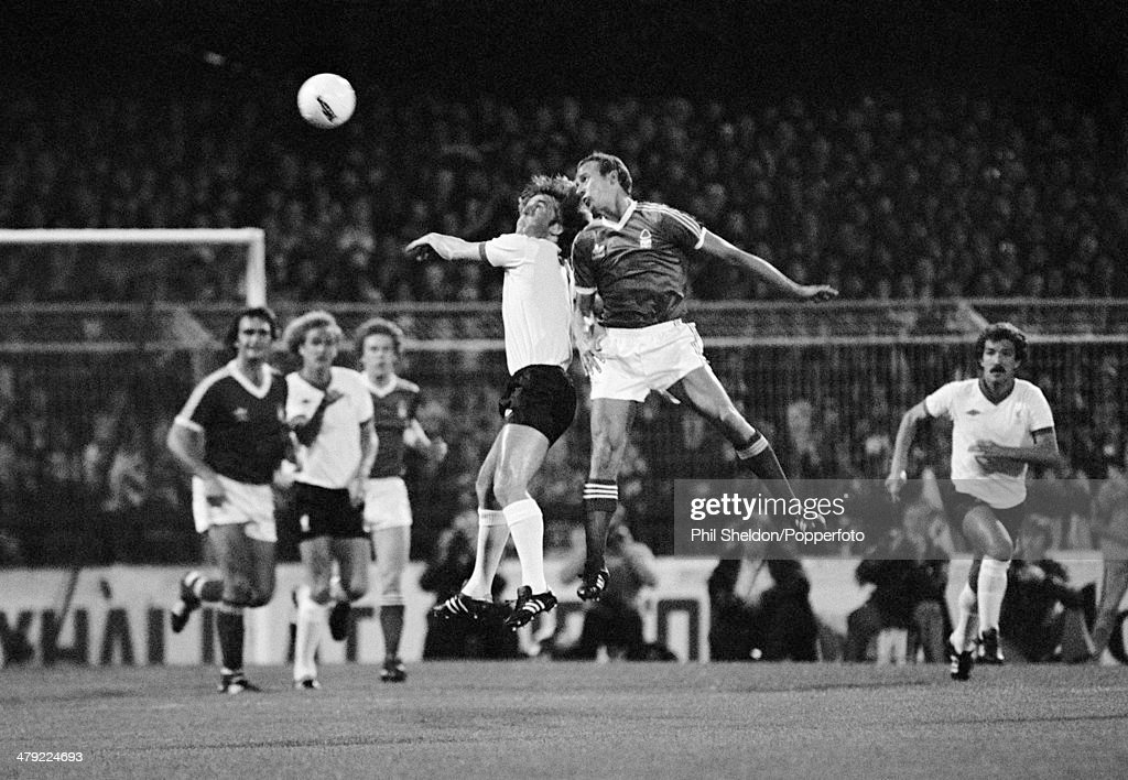 European Cup  - Nottingham Forest v Liverpool : News Photo