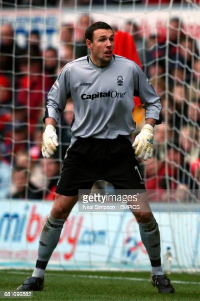 Nottingham Forest goalkeeper Darren Ward