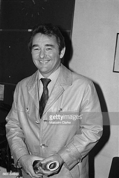 Nottingham Forest manager Brian Clough after an interview at Football Association headquarters in London, 5th December 1977.