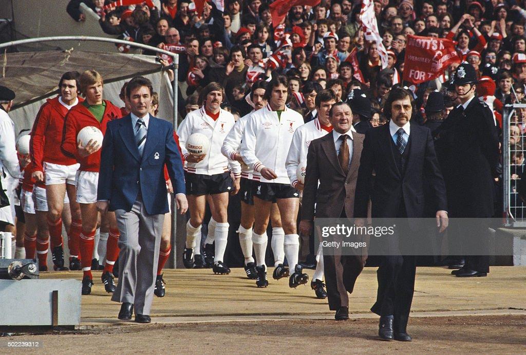 1978 League Cup Final Wembley Stadium Notts Forest v Liverpool : Photo d'actualité