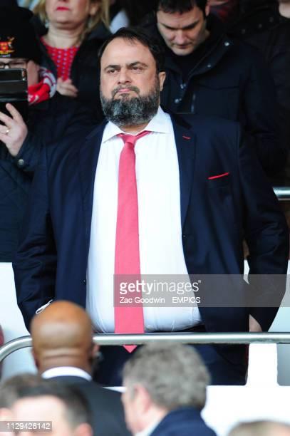 Nottingham Forest owner Evangelos Marinakis Nottingham Forest v Hull City Sky Bet Championship City Ground