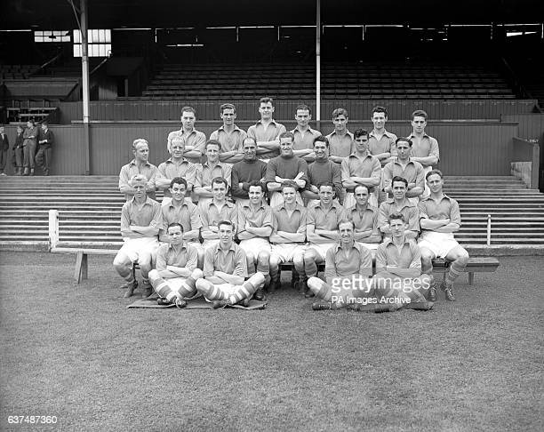 Nottingham Forest squad for the 1954/55 season James Clarke Jack Burkitt Bob McKinlay Ron Blackman F Barclay Alan Orr P Foster Bill Whare Horace...