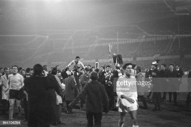 Nottingham Forest v Southampton, FA Cup Sixth Round match, 2nd Replay at the City Ground, Monday 8th April 1963, Final score: Nottingham Forest 0-5...