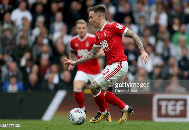 Nottingham Forest's Barrie McKay on the ball during the Sky Bet Championship match between Derby County and Nottingham Forest at the Pride Park...