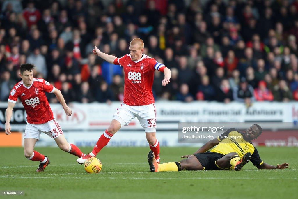 Burton Albion v Nottingham Forest - Sky Bet Championship