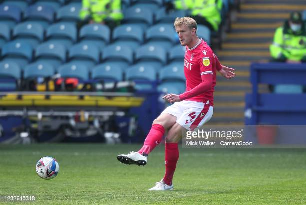 Nottingham Forest's Joe Worrall during the Sky Bet Championship match between Sheffield Wednesday and Nottingham Forest at Hillsborough Stadium on...