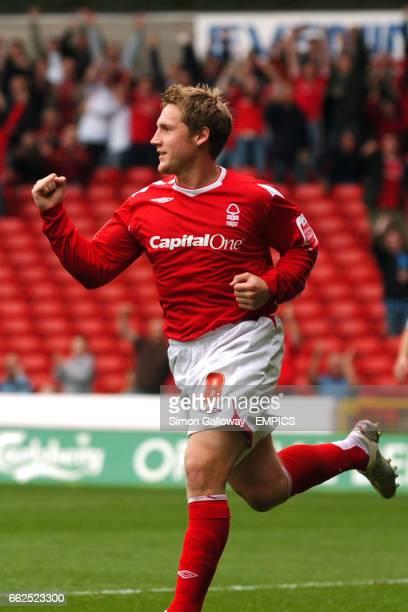 Nottingham Forest's Kris Commons celebrates his goal