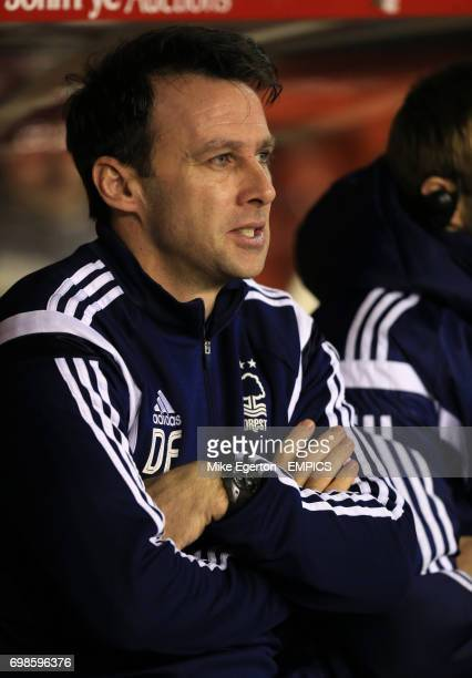 Nottingham Forest's manager Dougie Freedman