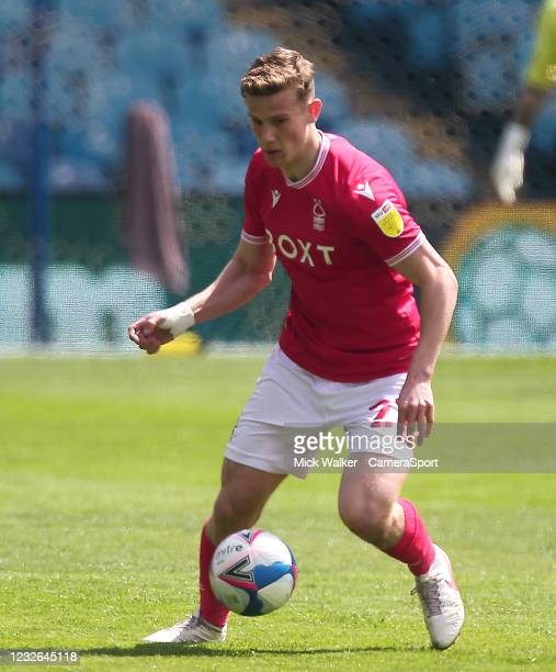 Nottingham Forest's Ryan Yates during the Sky Bet Championship match between Sheffield Wednesday and Nottingham Forest at Hillsborough Stadium on May...