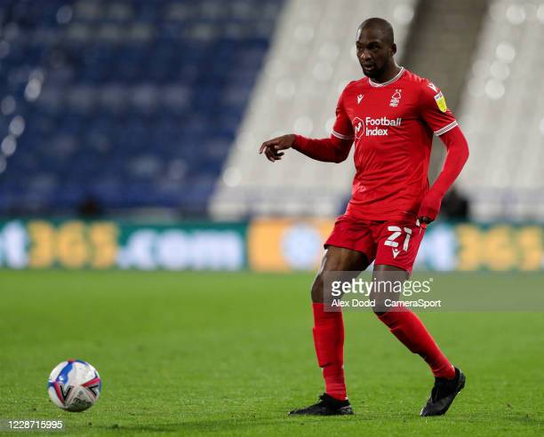 Nottingham Forest's Samba Sow during the Sky Bet Championship match between Huddersfield Town and Nottingham Forest at John Smith's Stadium on...