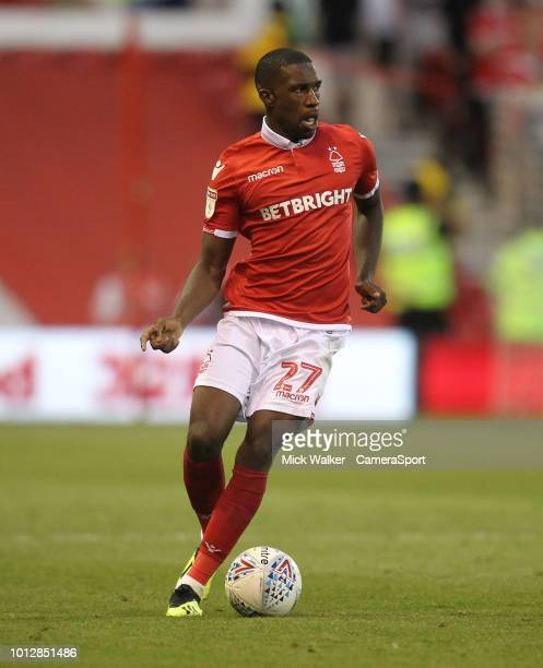 Nottingham Forest's Tendayi Darikwa during the Sky Bet Championship match between Nottingham Forest and West Bromwich Albion at City Ground on August...