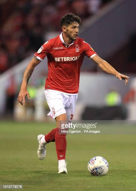 Nottingham Forest's Tobias Figueiredo
