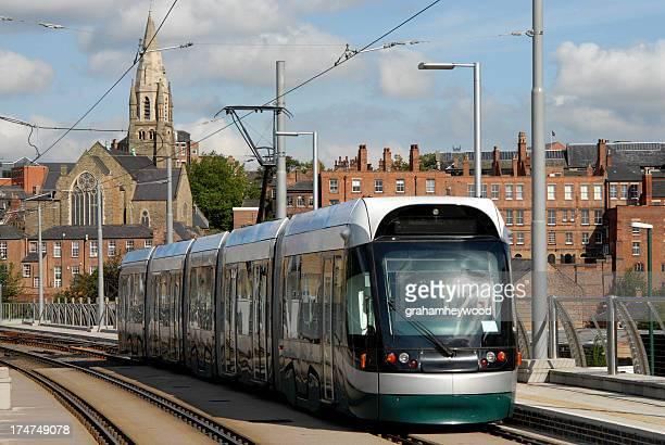 Nottingham Straßenbahn