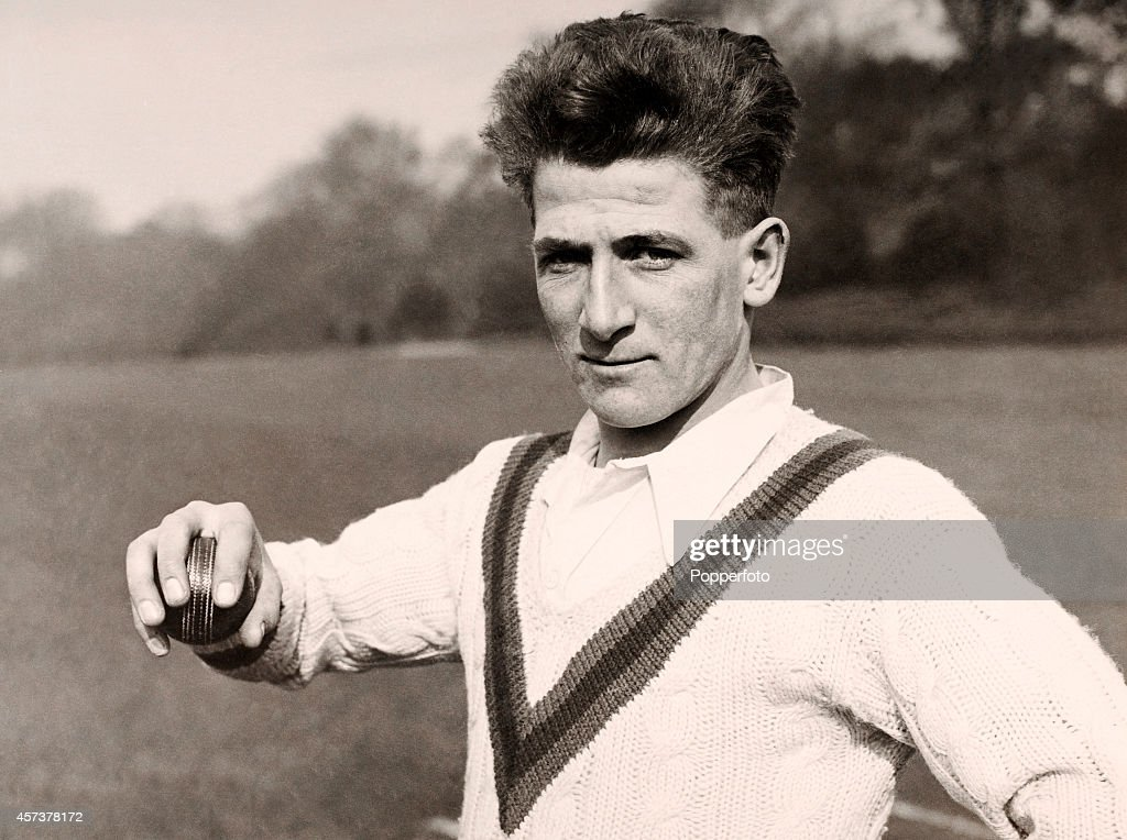 Harold Larwood - Cricketer : News Photo