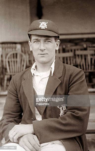 Nottinghamshire and England fast bowler Harold Larwood who was a member of the MCC England team in Australia for the infamous Bodyline series...