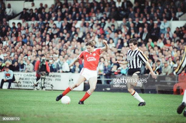 Notts County 1-0 Middlesbrough, League Division Two Play Off 2nd Leg match at Meadow Lane, Wednesday 22nd May 1991. Notts County win 2-1 on aggregate.