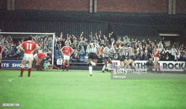 Notts County 1-0 Middlesbrough, League Division Two Play Off 2nd Leg match at Meadow Lane, Wednesday 22nd May 1991. Notts County win 2-1 on...