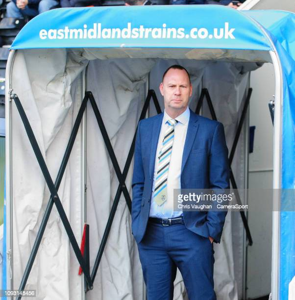 Notts County chairman and owner Alan Hardy prior to the Sky Bet League Two match between Notts County and Lincoln City at Meadow Lane on February 2...