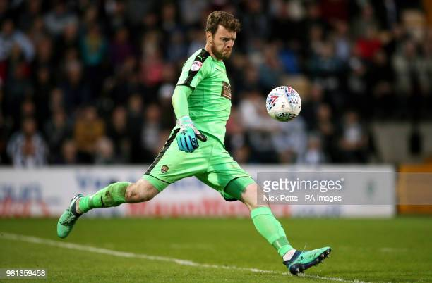 Notts County Goalkeeper Adam Collin
