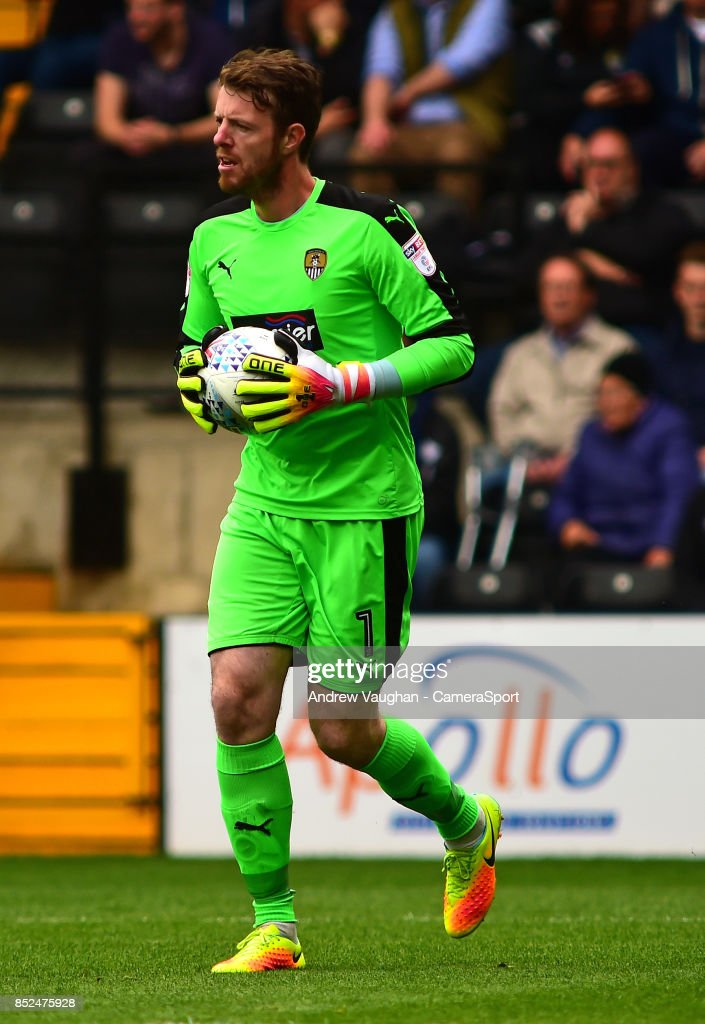 Notts County's Adam Collin during the Sky Bet League Two match between Notts County and Lincoln City at Meadow Lane on September 23, 2017 in Nottingham, England.