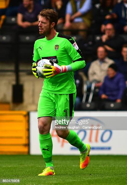 Notts County's Adam Collin during the Sky Bet League Two match between Notts County and Lincoln City at Meadow Lane on September 23 2017 in...