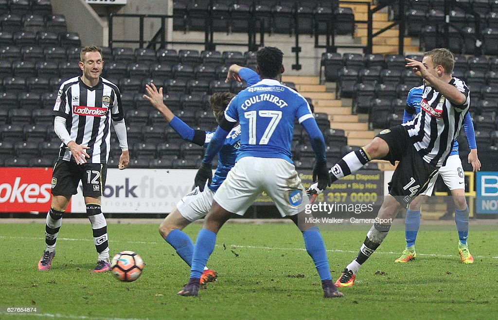 Notts County v Peterborough United - The Emirates FA Cup Second Round : News Photo