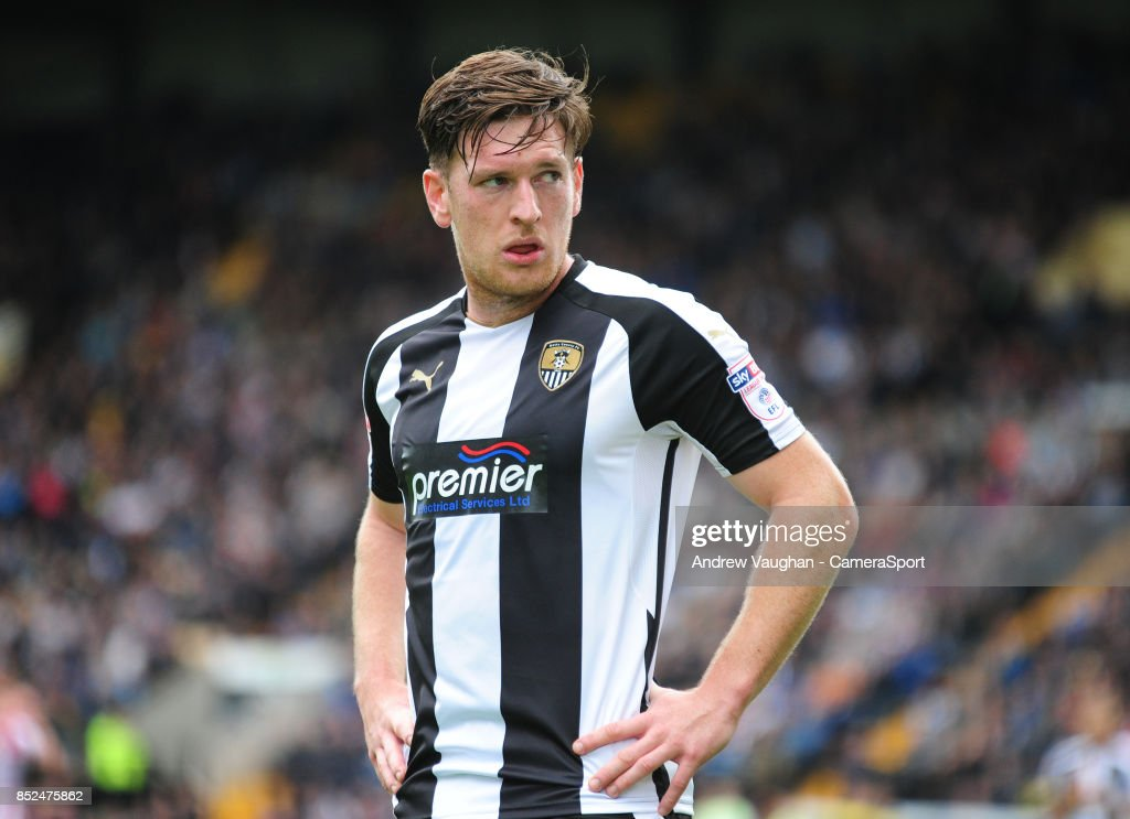 Notts County's Matt Tootle during the Sky Bet League Two match between Notts County and Lincoln City at Meadow Lane on September 23, 2017 in Nottingham, England.