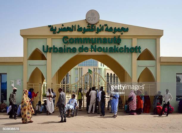 Nouakchott city hall, Mauritania