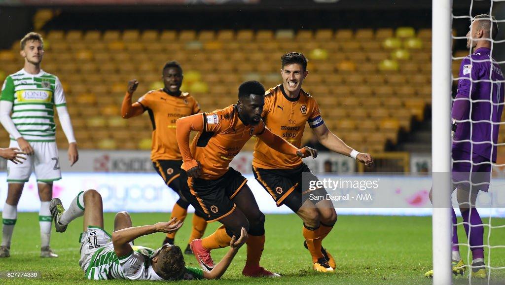 Wolverhampton Wanderers v Yeovil Town - Carabao Cup First Round : Nachrichtenfoto