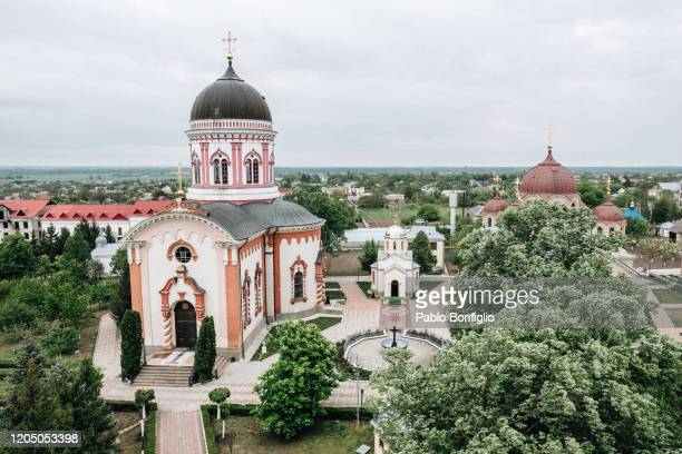 noul neamt monastery - moldova stock pictures, royalty-free photos & images