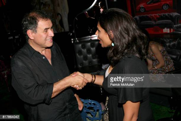 Nouriel Roubini and Sital Patel attend INFA Energy Brokers LLC celebrates the release of BRAD SCHAEFFER's 'Hummel's Cross' at Provocateur on...