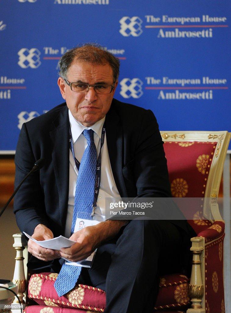 'Lo Scenario dell'Economia e della Finanza' Meeting In Cernobbio : News Photo