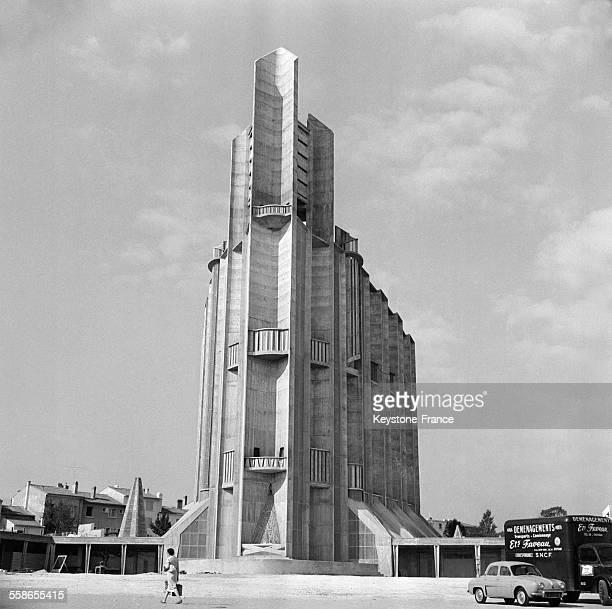 Nouvelle église NotreDame à Royan France le 27 décembre 1959