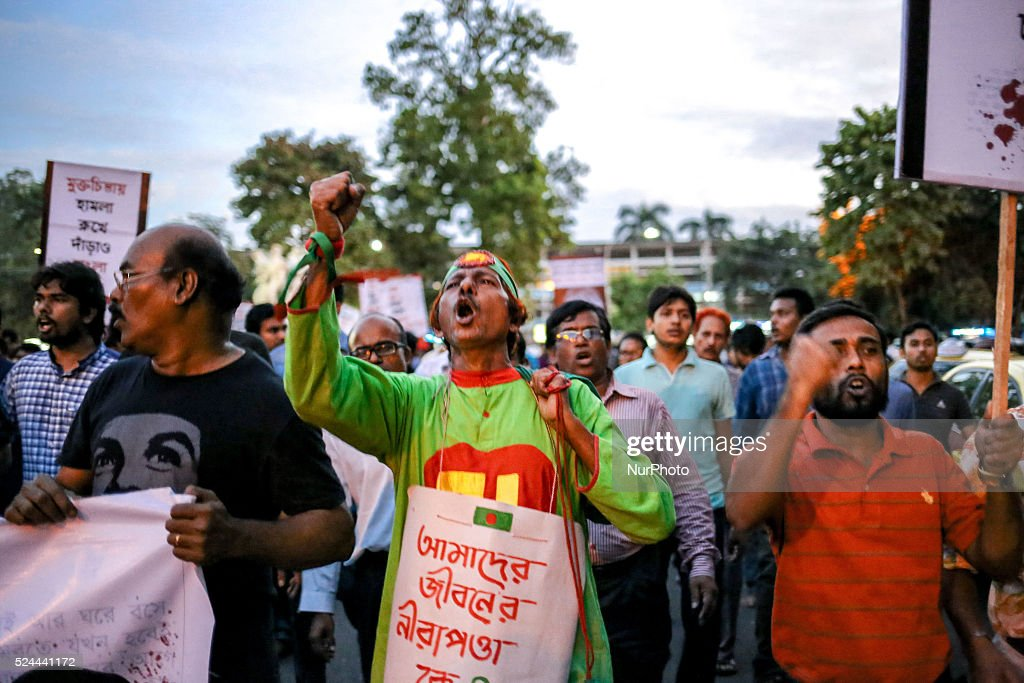 Protest against killing Bloggers and Publishers : News Photo