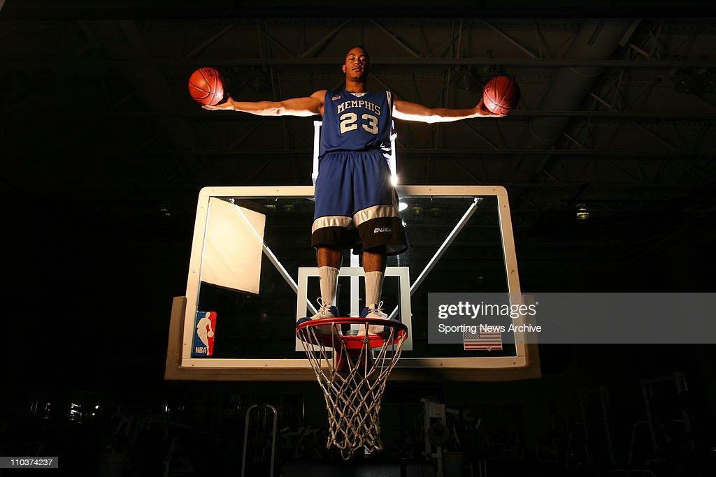 Nov 02, 2007 - Memphis, Tennessee, USA - University Of Memphis Basketball Player DERRICK