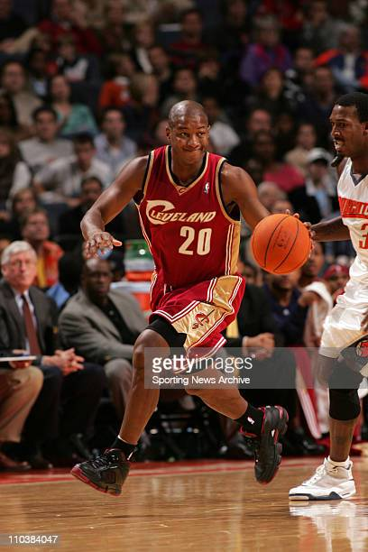 Nov 04 2006 Charlotte NC USA Cleveland Cavaliers ERIC SNOW against Charlotte Bobcats on Nov 4 at the Charlotte Bobcats Arena in Charlotte NC The...