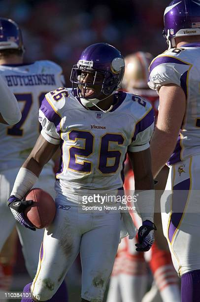 Nov 05 2006 San Francisco CA USA Minnesota Vikings ANTOINE WINFIELD during the game against San Francisco 49ers