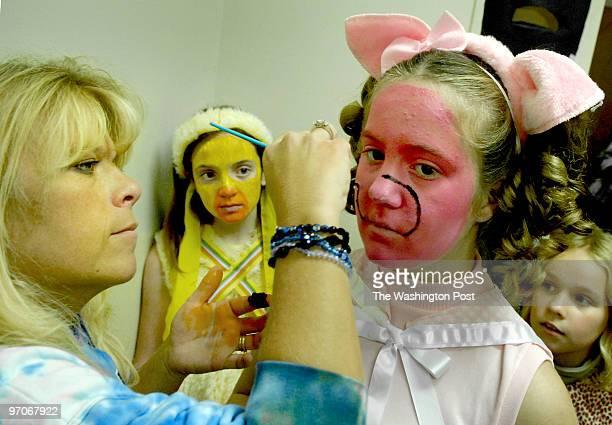 pwdolittle assignmet no 195506 Photographer Gerald Martineau Manassas VA rerhersal building dress rehersal for Dr Dolittle Lisa Sylvester as she...