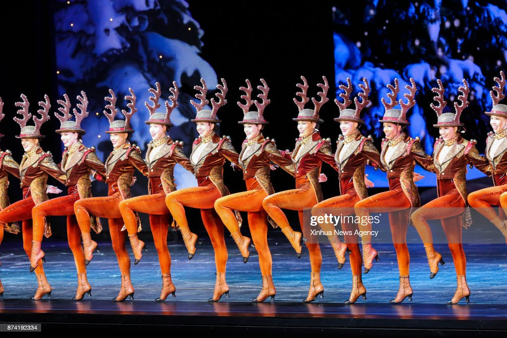 rockettes girls perform during the 2017 production of christmas - Rockettes Christmas Show