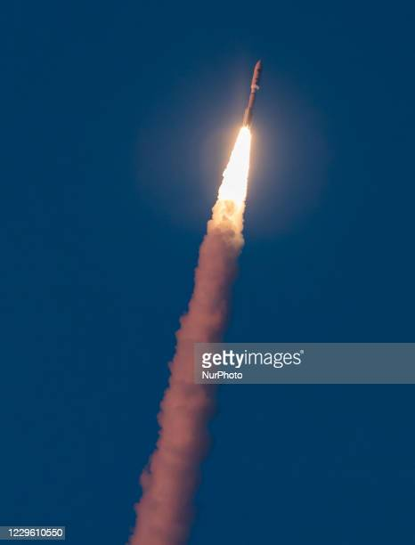 Nov 13, 2020 - A ULA Atlas V lift off from launch pad 41 at the Cape Canaveral Air Force Station carrying a classified payload for the Natiobnal...