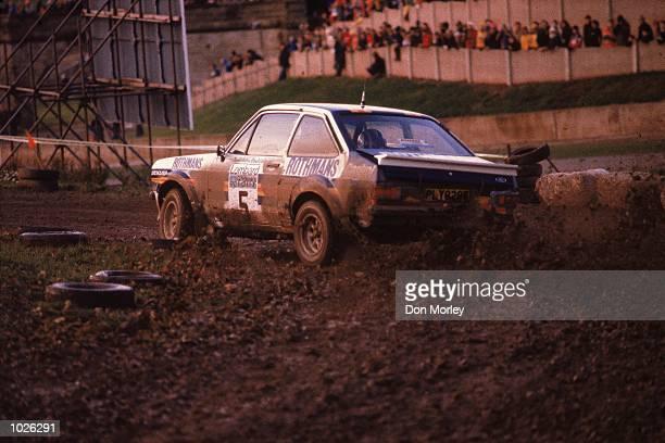 Ari Vatanen and David Richards in action during the RAC Rally of Great Britain Mandatory Credit Don Morley /Allsport