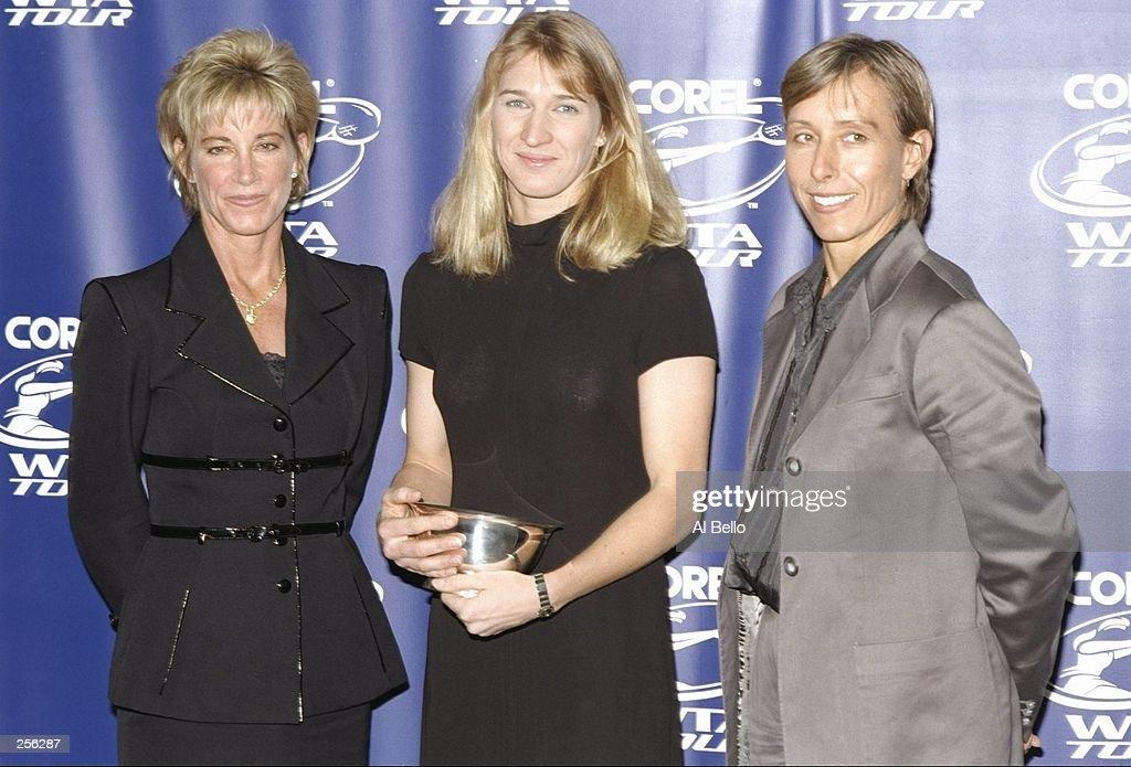 Corel WTA Awards : News Photo