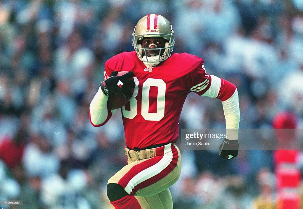 Jerry Rice #80... : News Photo