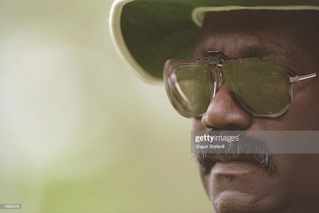 A portrait of Clive Lloyd the manager of the West Indies taken : News Photo