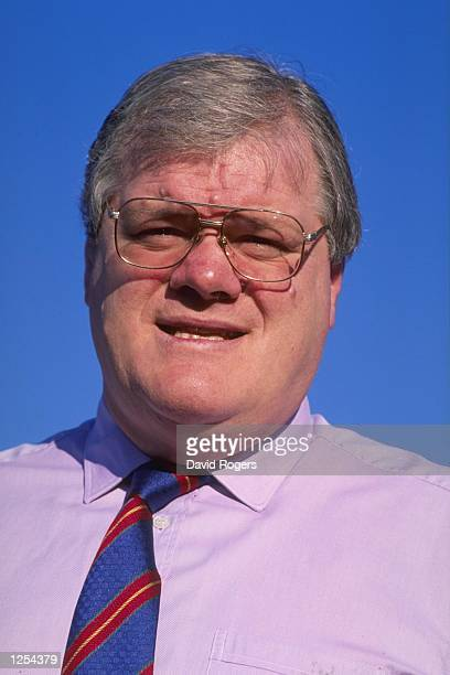 A portrait of Fran Cotton the British lions tour manager taken during a rugby union feature at his company Cotton Traders in Altringham Mandatory...