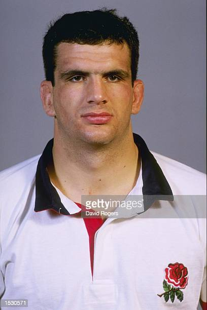 A portrait of Martin Johnson of England taken during the team photocall at Bisham Abbey in Marlow Mandatory Credit David Rogers/Allsport