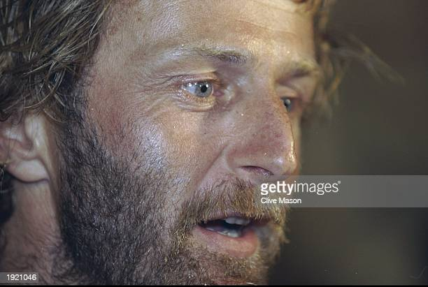 A portrait of Toshiba skipper Paul Standbridge of Great Britain In his first leg as skipper he finished third in the second leg of the Whitbread...